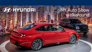 New York Auto Show | SangYup Lee Live Walk-Around with all-new Hyundai Venue + 2020 Sonata | Hyundai