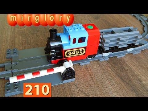 Машинки Мультики про Паровозики Переезд Город машинок 210 серия Мультики для детей игрушки mirglory