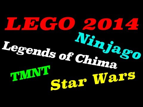 2014 LEGO Ninjago. Star Wars. Chima. TMNT Set Lists Revealed