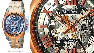 Best Christmas Presents for Men -  Bulova Men's Automatic Stainless Steel Casual Watch