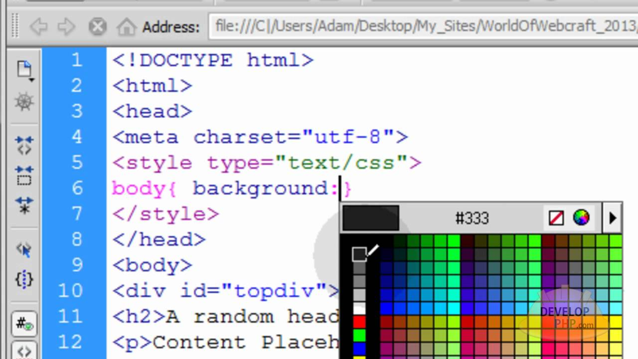 - Css div layout ...