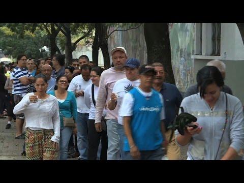 Venezuela votes in knife-edge election