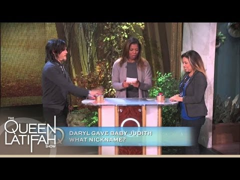 Norman Reedus Takes On A Fan    The Queen Latifah Show