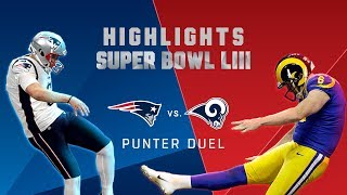 Punter Duel, Hekker vs. Allen! | Super Bowl LIII Player Highlights