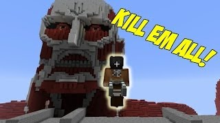 Attack on Titan Minecraft Mod