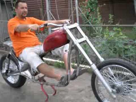 Первый опыт постройки мотоцикла, Днепр-11+Harley-Ddson