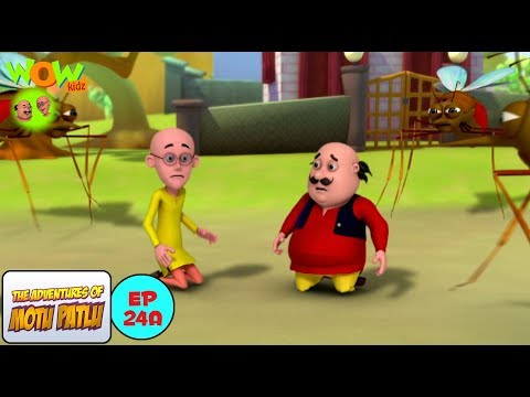 Giant Mosquitoes - Motu Patlu in Hindi WITH ENGLISH, SPANISH & FRENCH SUBTITLES thumbnail