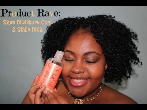 Product Rave: Shea Moisture Curl & Style Milk