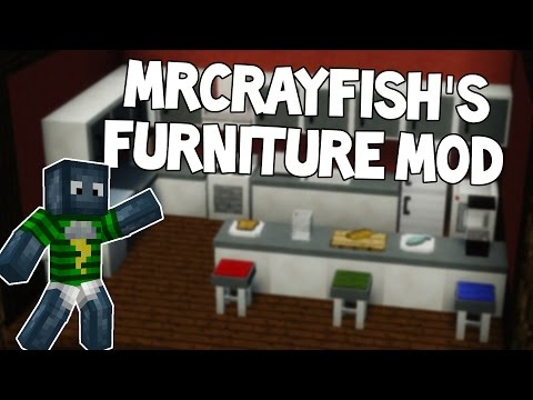 Möbel in Minecraft   MRCRAYFISH'S FURNITURE MOD   Review+Installation   Deutsch HD