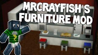 Möbel in Minecraft | MRCRAYFISH'S FURNITURE MOD | Review+Installation | Deutsch HD
