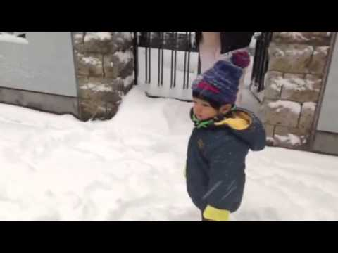 Heavy Snow in Tokyo 2014 - 東京で13年ぶりの大雪