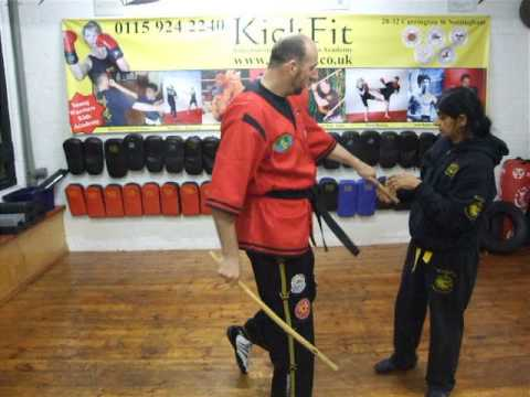 Master Hudson and Kamay ,Doce Pares Punyo Drill ,Kickfit Martial Arts Academy,Nottingham,UK Image 1