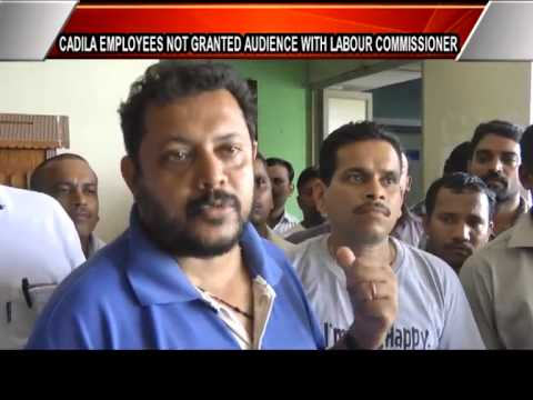 #Cadila #Healthcare #Employees Union Strike #goa