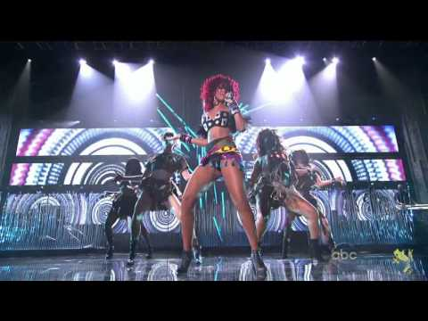 Rihanna American Music Awards 2010 Hd