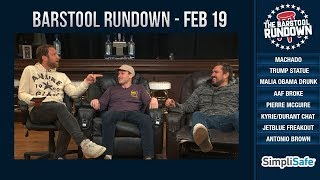Is Lebron buying Malia Obama Wine? - February 19, 2019 - Barstool Rundown