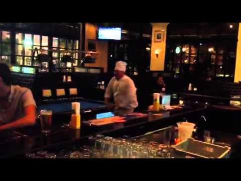 Dancing Chef Flann O briens Bangkok
