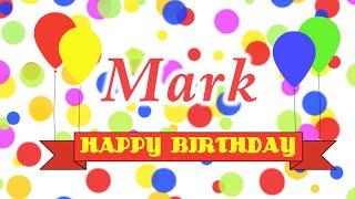 Happy Birthday Mark Song