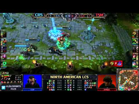 CRS vs TSM - LCS 2013 NA Spring W9D2 (English)