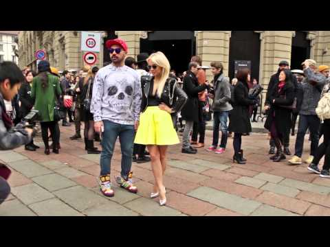Street Style men's fashion week Milan january 11 - 14, 2014