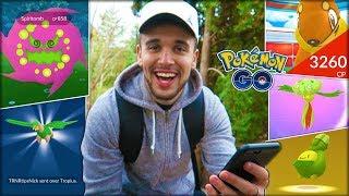 ENTERING FIVE RARE POKÉMON IN THE POKÉDEX! (Pokémon GO)