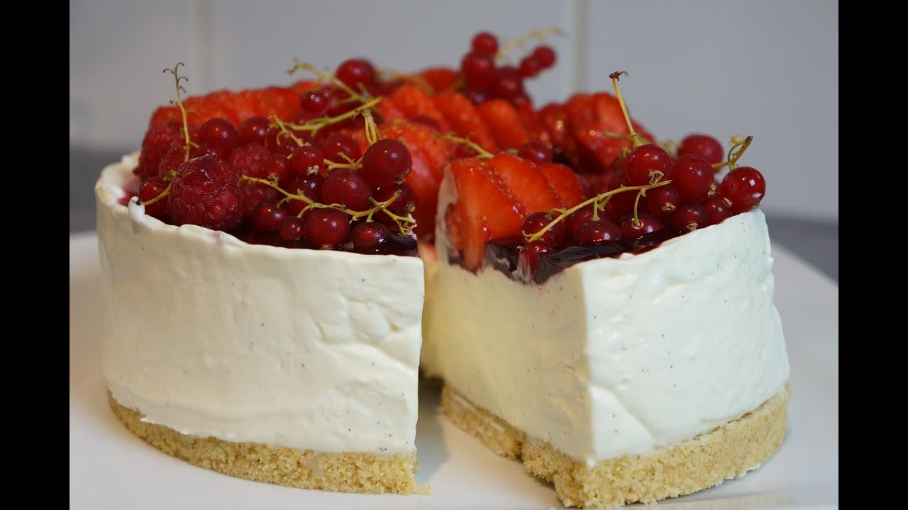 Cake Fromage Blanc Fruits Rouges
