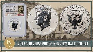 JUST RELEASED: 2018-S Kenendy Half Dollar PF70