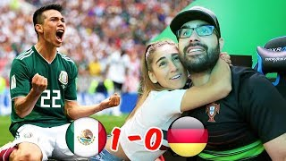 REACTING TO MEXICO VS GERMANY! WORLD CUP 2018