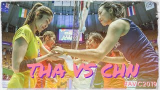 Full match Thai vs China Semifinal AVC 2019 Asian womens Volleyball Championship