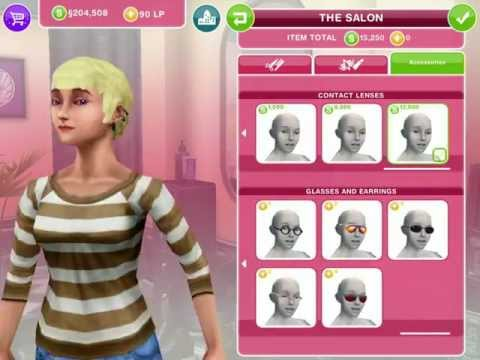The sims freeplay the salon update featuring katy perry for ios