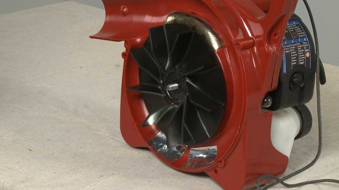 What Is A Spark Plug >> Leaf Blower Fan Blade Replacement – Toro Leaf Blower Repair (Part #518265003) - YouTube