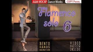 SL - Flamenco Solo 6 - dance animation :: for Second Life