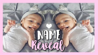 Official Baby Girl Name Reveal | Unique Baby Name Reveal