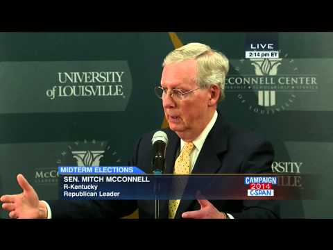 """""""There's only one Democrat who counts, the President."""" -Sen. Mitch McConnell (C-SPAN)"""