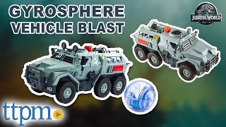 Jurassic World Gyrosphere Blast Vehicle from Mattel
