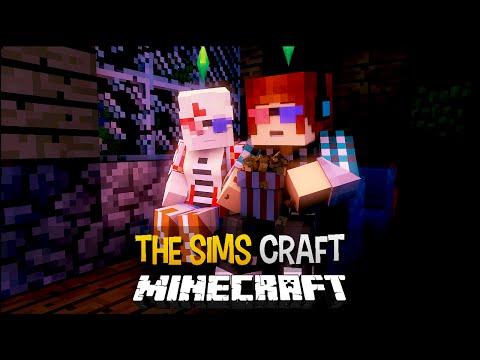 Minecraft: The Sims Craft Ep.91 - Cinema Em Familia !! ( Filme Terror,...