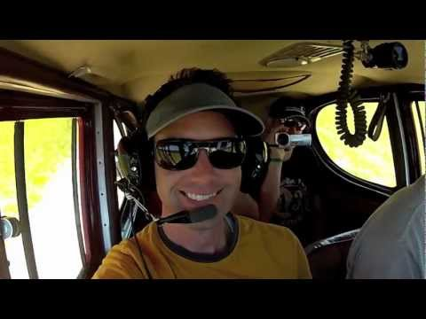 Plane crash video from inside cockpit