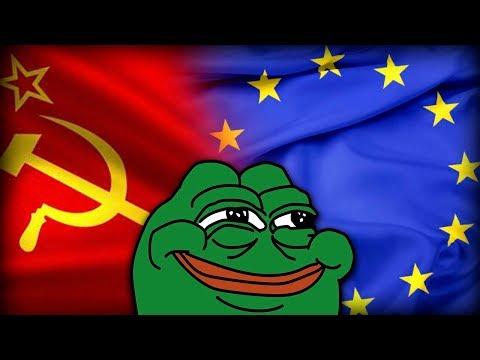 СССР ТЕПЕРЬ ЕВРОПА!