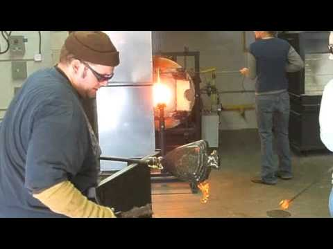 Hocking College's Hot Glass Studio