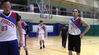 FIDELITY HOOPS vs 蛇義   Q3  19 AUG SPORTSART BASKETBALL LEAGUE 博亞籃球聯賽