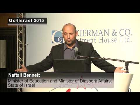 Naftali Bennett, Minister of Education - State of Israel