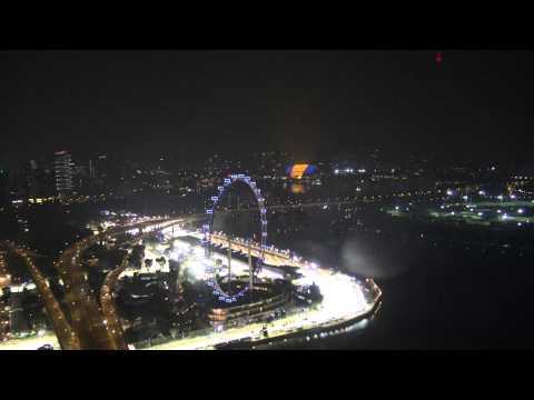SkyPark @ Marina Bay Sands Hotel, Singapore - F1 Circuit 2015