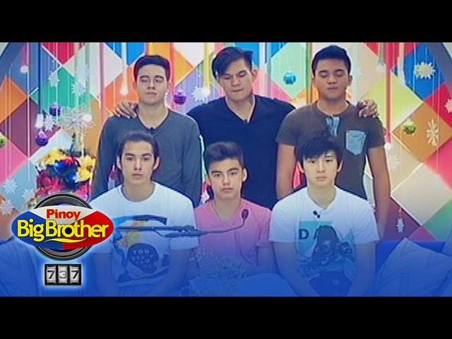 PBB 737 Update: Boys show off their body