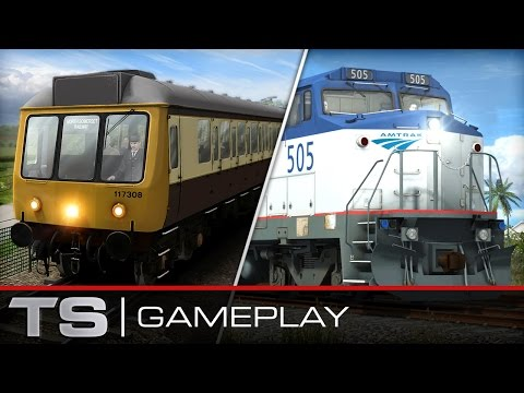 Train Simulator 2016 Gameplay: North Somerset Railway and Amtrak® Dash 8-32BWH