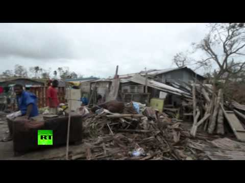 Vanuatu wrecked after Cyclone Pam batters pacific island