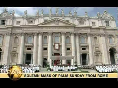Pope Benedict XVI, Palm Sunday Mass, April 1, 2012
