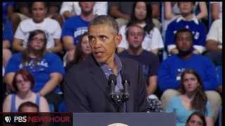 Watch Obama Announce New Plan for College Affordability  8/22/13