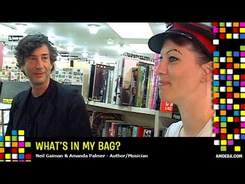 Neil Gaiman &amp; Amanda Palmer - What&#039;s In My Bag?