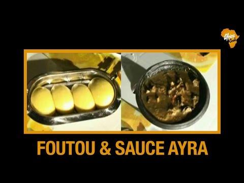 Recette de Foutou banane & sauce Ayra (Cuisine Ivoirienne) | Africa Cook