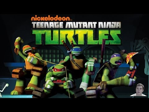 Teenage Mutant Ninja Turtles Nickelodeon 2012 TV Series - Review!