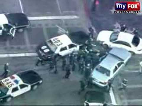 LAPD Police Pursuit Music Videos
